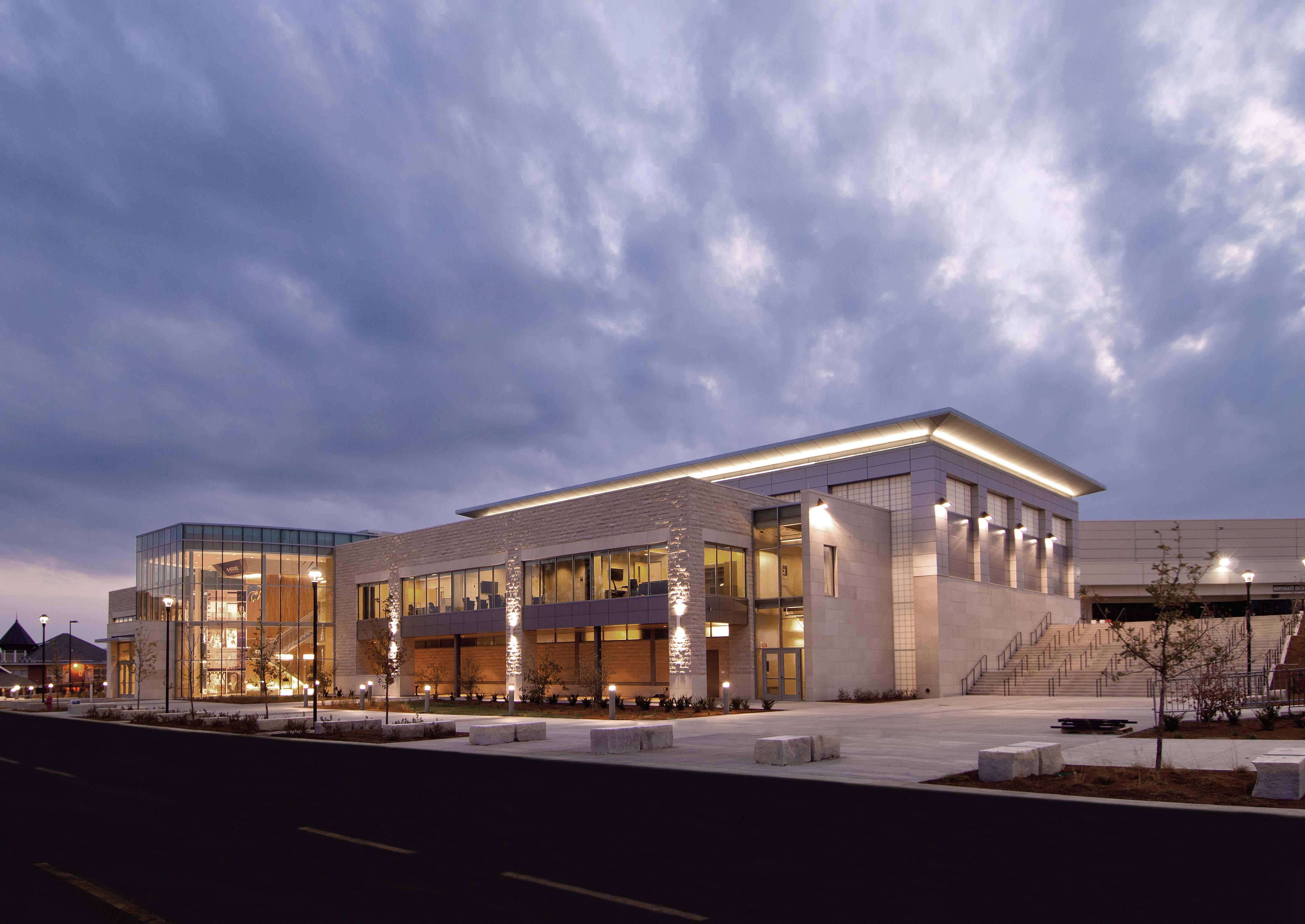 Kansas State University Basketball Training Facility