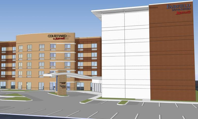 Courtyard By Marriott / Fairfield Inn & Suites Dual Hotel