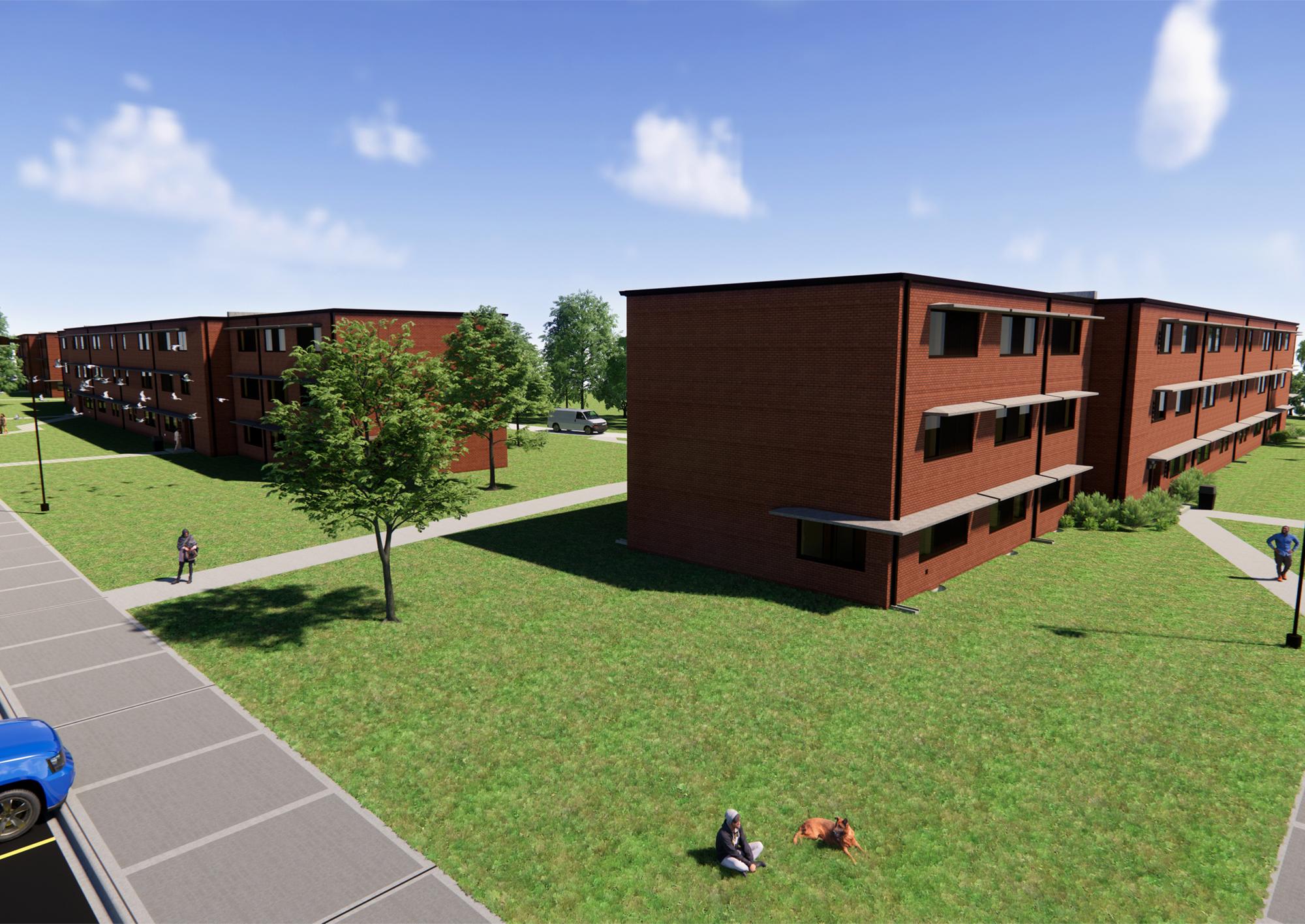 Barracks Renovations - Ft. Riley
