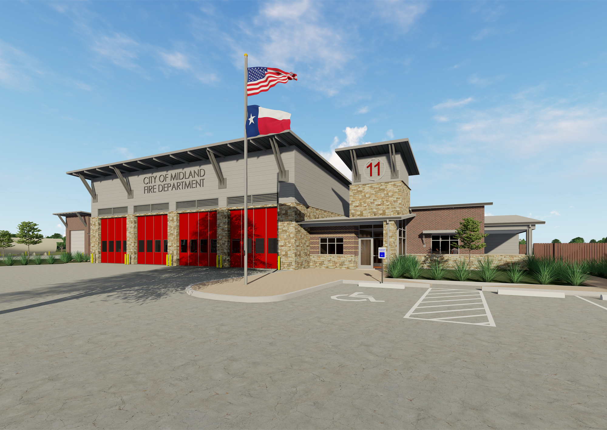 Midland Fire Stations No. 5 & 11